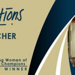 Winner of 2018 Enterprising Women of the Year Champions