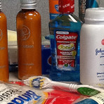 Collecting Toiletries for Homeless Shelters
